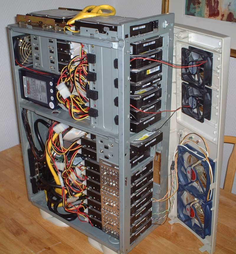 Как сделать из одного пк сервер 30